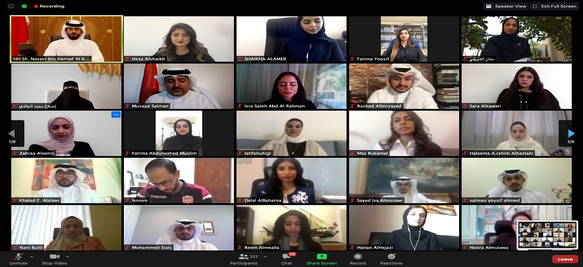 Some of our BUB students participated in the highly prestigious Youth Summit 2020, this year hosted virtually in Bahrain by the Ministry of Youth and Sports Affairs.